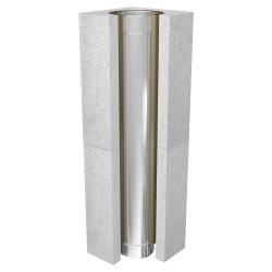 Leichtbauschornstein Schachtelement 1000 mm