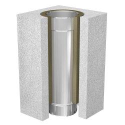 Leichtbauschornstein Schachtelement 500 mm