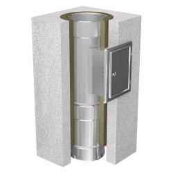 Schachtelement 500 mm mit Reinigung (zylindrisch) 130
