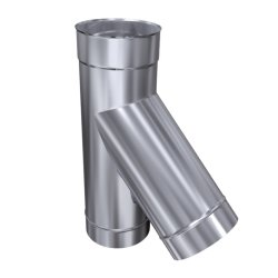 Schornsteinsanierung T-Stück 0,6 mm DN 113 45°