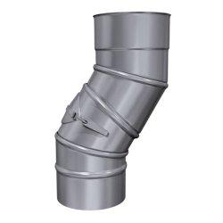Kaminsanierung Winkel drehbar 0,6 mm DN 150 mit Revision...