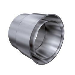 Kamin Sanierung Doppelwandfutter DN 150 200 mm 1,0 mm
