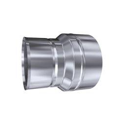 Schornsteinsanierung Reduzierung 0,6 mm MU-DN 120 80