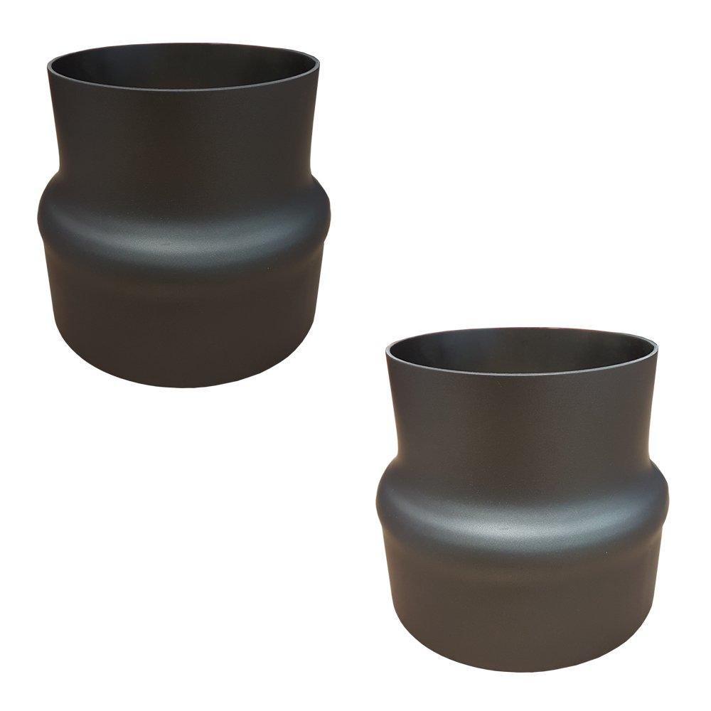ofenrohr reduzierung erweiterung. Black Bedroom Furniture Sets. Home Design Ideas