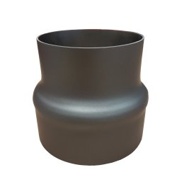 Ofenrohr Reduzierung 150 / 120 gussgrau
