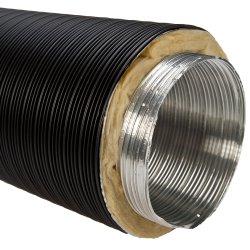 Alu Isolierflexrohr 5-lagig 100 mm schwarz