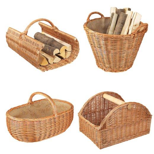 Holzkorb Weidekorb Basket