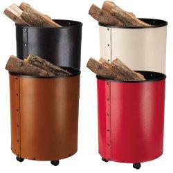 Rumba Holzbehälter mit Rollen