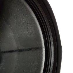 Pelletrohr Bogen einmal abgewinkelt ohne Reinigungsverschluß