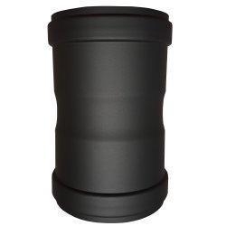 Pelletrohr Verbindungsstück - Doppelmuffenrohr 130 mm