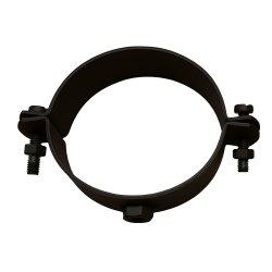 Pelletrohr Rohrhalter Set mit Schrauben und Gewindestange