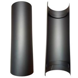 Ofenrohr Hitzeschutzschild für gerades Rohr 465 mm...