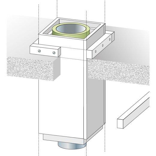 UNI-STREIFEN 60 X 1200 mm t=40 mm