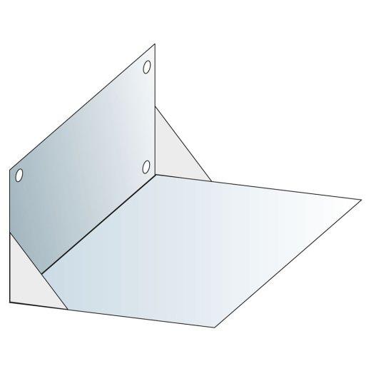System-Wandkonsole für Leichtbauschacht