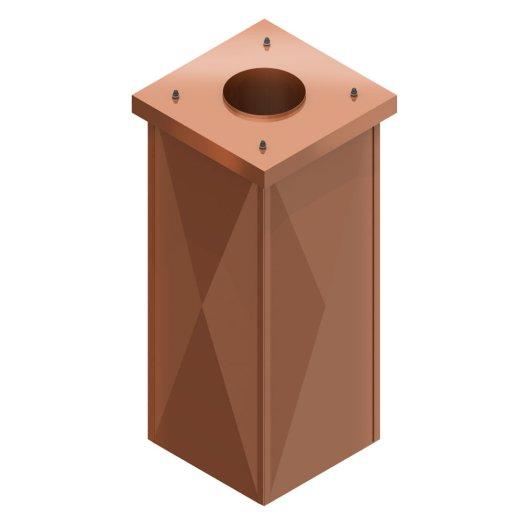 Stülpkopf für LB Schacht Typ Kupfer