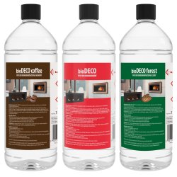 Ethanol Biobrennstoff Bio-Deco 1 Liter