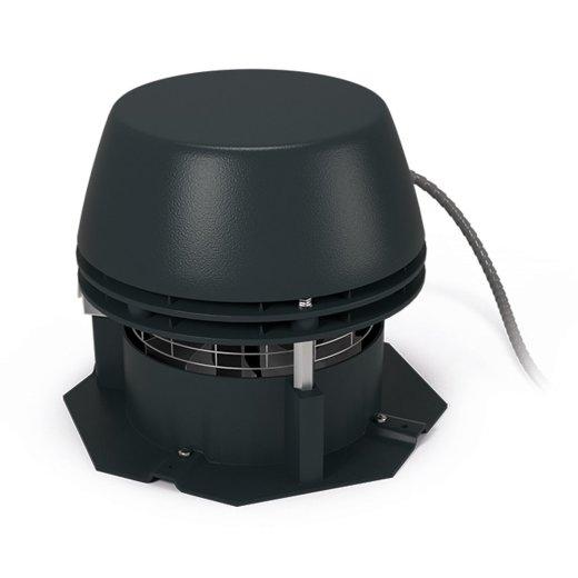 RS - Abgasventilator mit Axialflügel - 8-eckige Grundplatte