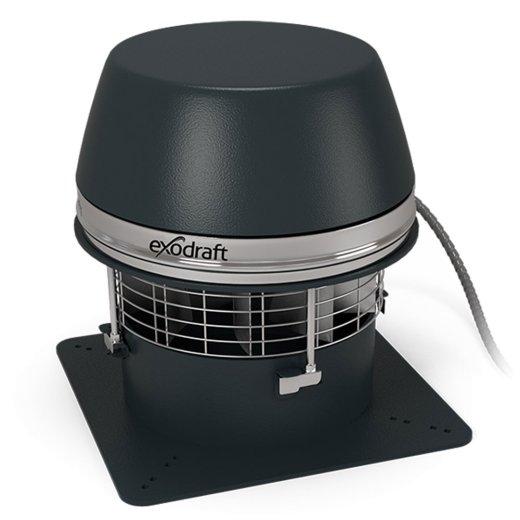 RSHT - Abgasventilator mit Axialflügel, hochtemperaturbeständig bis 700° C für 1h / 500 Grad C im Dauerbetrieb