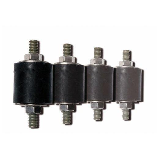 Gummischwingungsdämpfer für schwingungsfreie Montage