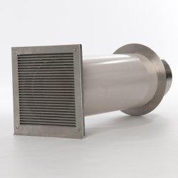 CB Verbrennungsluftsystem Einzelklappe 80 mm Stutzen